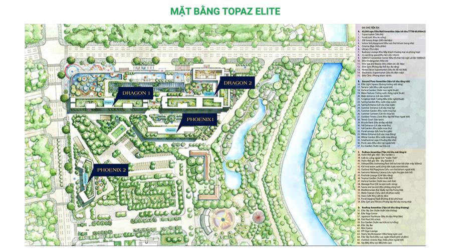 Tổng quan dự án Topaz Elite Căn hộ Topaz Elite tầng 12A ban công hướng Tây view thành phố