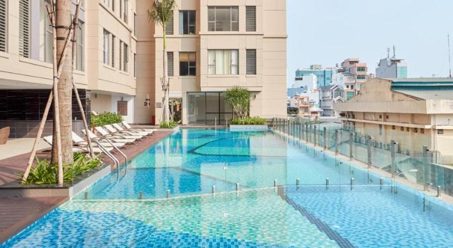 Tiện ích căn hộ The Tresor, Quận 4 Căn hộ The Tresor tầng 9 thiết kế sang trọng, nội thất đầy đủ.