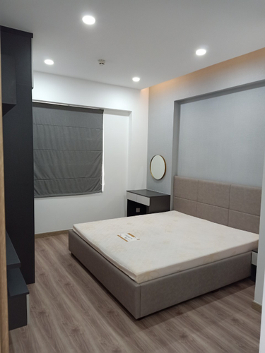Phòng ngủ Saigon South Residence Căn hộ Saigon South Residence tầng 24 diện tích 74.77m2, đầy đủ nội thất.