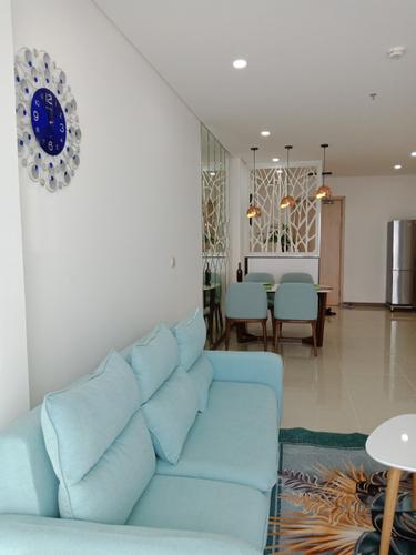 Căn hộ HaDo Centrosa Garden tầng 10 thiết kế hiện đại, đầy đủ nội thất.