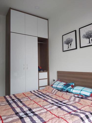 Phòng ngủ Sunrise Riverside Căn hộ tầng 7 Sunrise Riverside nội thất đầy đủ, ban công hướng Đông