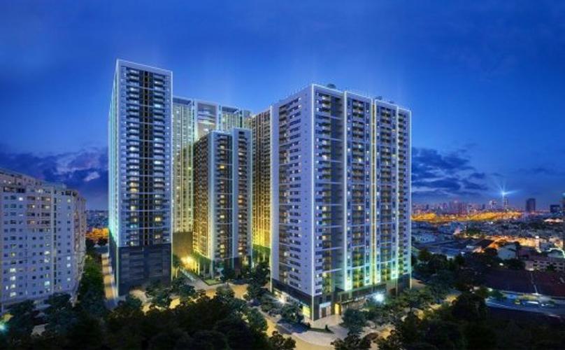 Căn hộ The Gold View, Quận 4 Căn hộ The Gold View tầng 31 diện tích 80m2, đầy đủ nội thất.