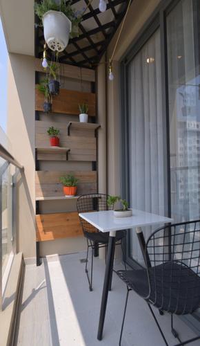 Căn hộ The Gold View, Quận 4 Căn hộ The Gold View tầng 8 diện tích 80m2, bàn giao đầy đủ nội thất.