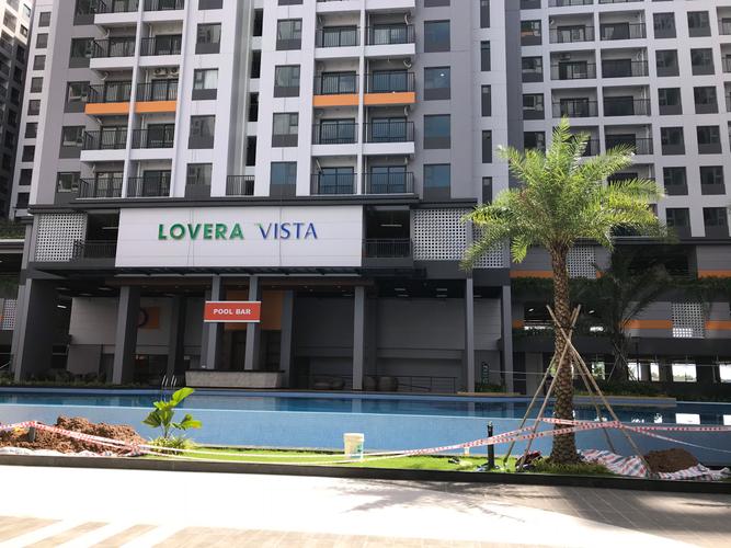 Tiện ích căn hộ Lovera Vista, Huyện Bình Chánh Căn hộ Lovera Vista tầng 3 thiết kế 2 phòng ngủ, bàn giao nội thất cơ bản.