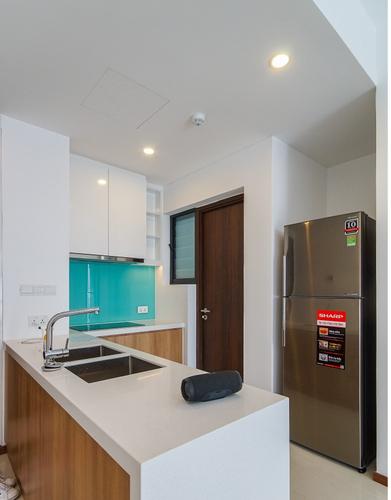 Căn hộ One Verandah, Quận 2 Căn hộ One Verandah tầng 12 view sông thoáng mát, đầy đủ nội thất.