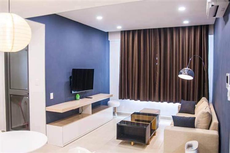 Căn hộ Masteri Thảo Điền tầng cao diện tích 50m2, đầy đủ nội thất.