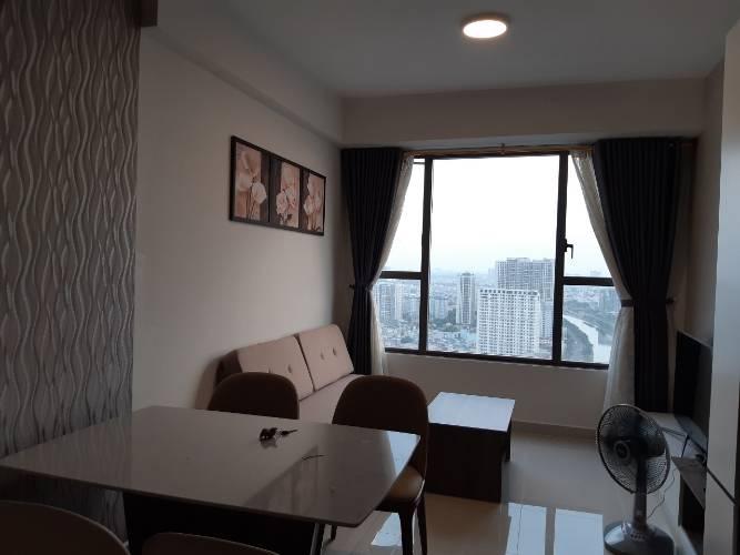 Căn hộ RiverGate Residence tầng 30 view sông thoáng mát, đầy đủ nội thất.