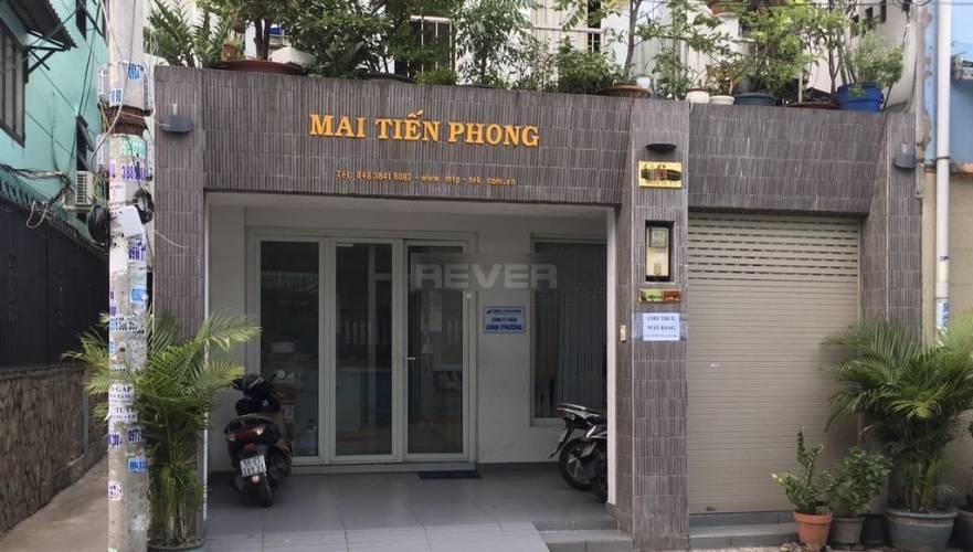 Mặt tiền văn phòng Quận Phú Nhuận Văn phòng diện tích 60m2 cửa hướng Đông thoáng mát, nội thất cơ bản.
