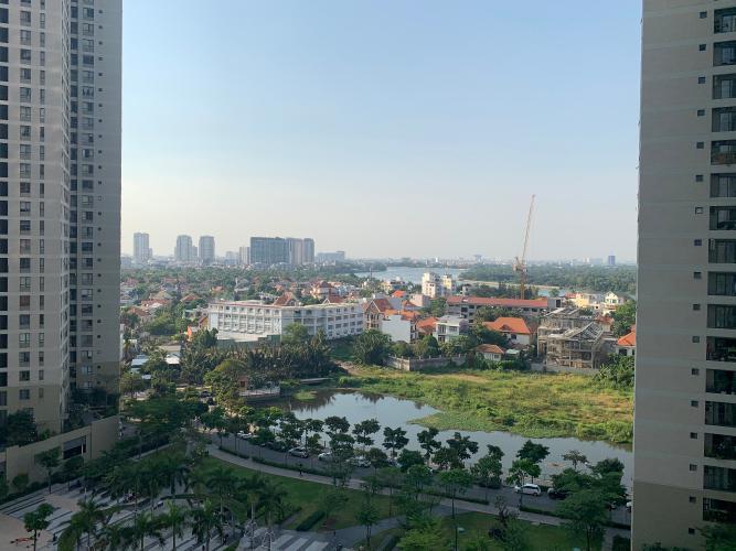 View căn hộ Masteri Thảo Điền, Quận 2 Căn hộ Masteri Thảo Điền tầng cao view thoáng mát, nội thất đầy đủ.