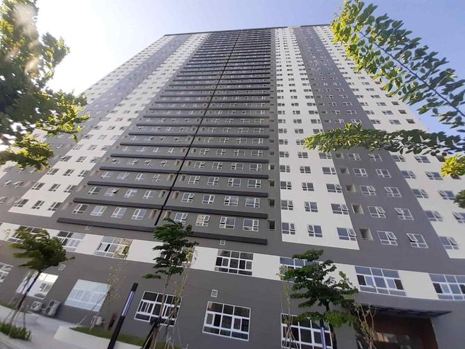 Topaz Elite quận 8 Căn hộ Topaz Elite tầng 27 không có nội thất, cửa chính hướng Tây Bắc