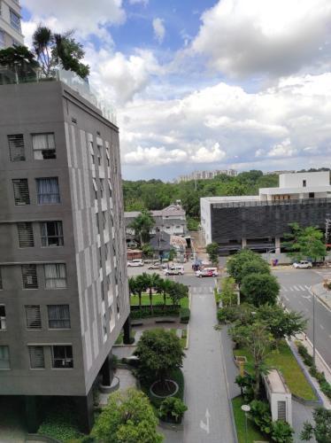 View căn Officetel Orchard Garden, Quận Phú Nhuận Căn Officetel Orchard Garden diện tích 36m2, đầy đủ nội thất hiện đại.