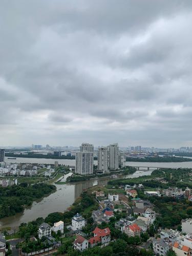 View căn hộ The Sun Avenue, Quận 2 Căn hộ The Sun Avenue tầng 1 diện tích 56m2, view thành phố sầm uất.