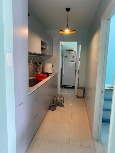 Phòng bếp căn hộ An Viên Apartment, Quận 7 Căn hộ tầng 8 An Viên Apartment hướng Tây Bắc, đầy đủ nội thất.