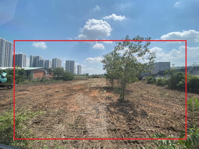 Đất nền mặt tiền đường Số 27, diện tích 2025m2 vuông đẹp.