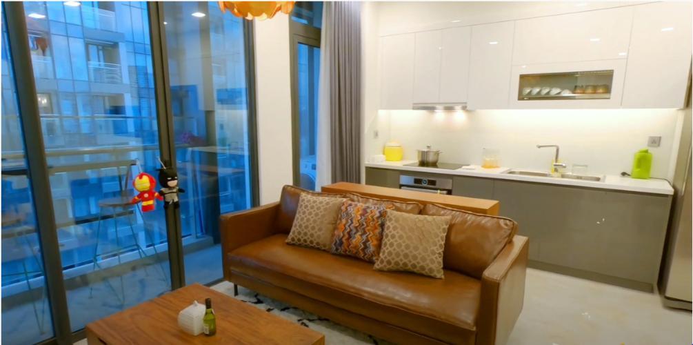 Không gian căn hộ Vinhomes Golden River, Quận 1 Căn hộ tầng 5 Vinhomes Golden River nội thất đầy đủ, view nội khu yên tĩnh