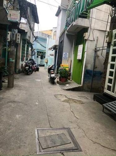 Đường trước nhà phố Quận Bình Thạnh Nhà phố hẻm đối diện chợ Vạn Kiếp, diện tích 36m2 không nội thất.