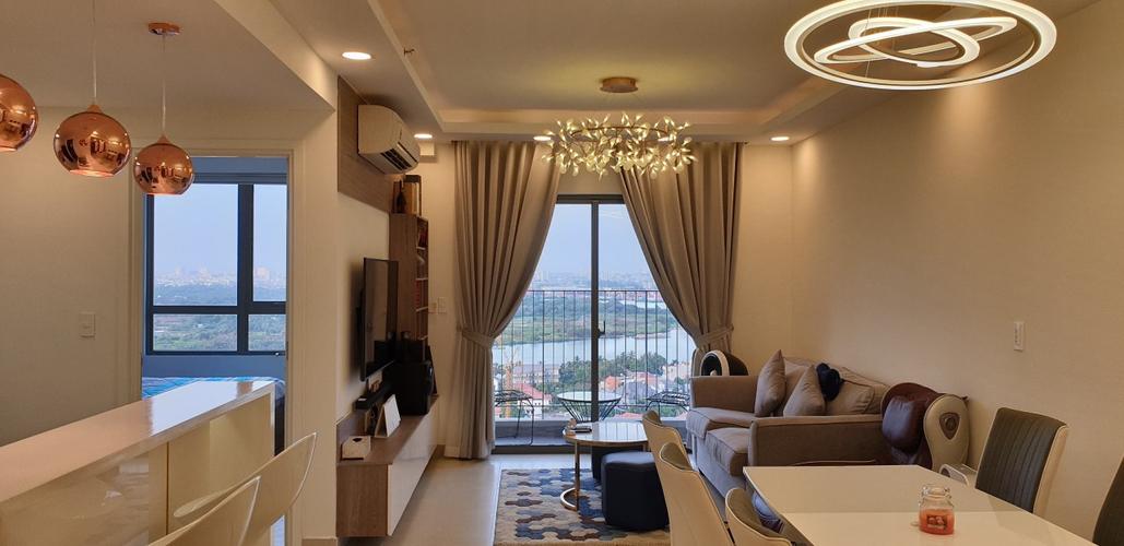 Căn hộ Masteri Thảo Điền, Quận 2 Căn hộ Masteri Thảo Điền tầng 23 thiết kế 2 phòng ngủ, tiện ích đa dạng.