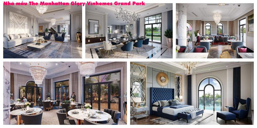 Biệt thự Vinhomes Grand Park, Quận 9 Biệt thự diện tích 352m2, Khu The Manhattan Glory- Vinhomes Grand Park.