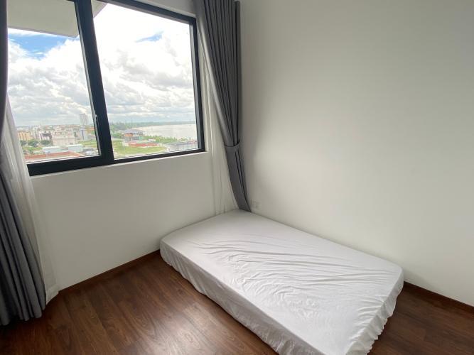 Phòng ngủ One Verandah Quận 2 Căn hộ One Verandah tầng thấp, view thành phố và sông.