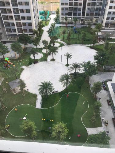 View căn hộ Vinhomes Grand Park, Quận 9 Căn hộ Vinhomes Grand Park tầng 10 diện tích 69.2m2, nội thất cơ bản.