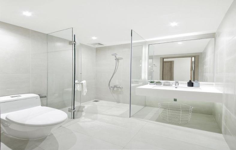Phòng tắm căn hộ Opal Boulevard, Huyện Dĩ An Căn hộ Opal Boulevard tầng 10 gồm 3 phòng ngủ, nội thất cơ bản.