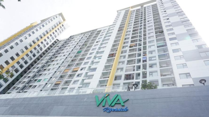 Viva Riverside, Quận 6 Căn hộ chung cư Viva Riverside tầng trung, nội thất cơ bản.