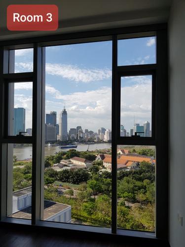 View căn hộ Empire City, Quận 2 Căn hộ Empire City tầng 13 view Sông Sài Gòn, nội thất cơ bản.