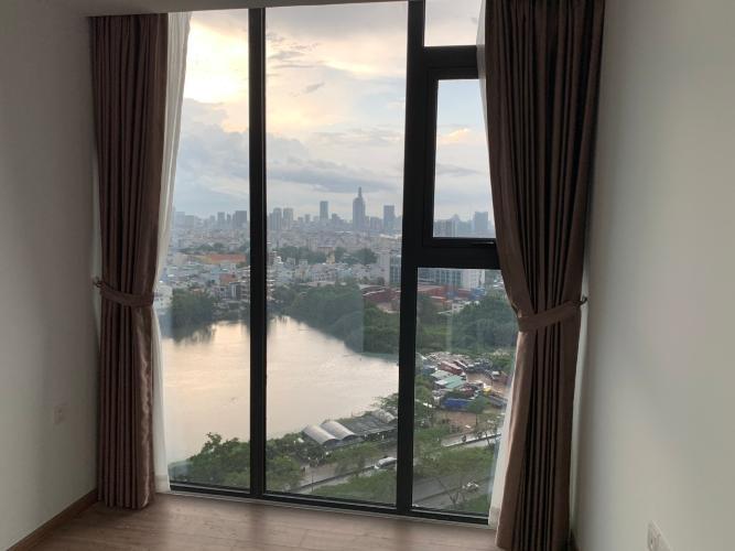 View từ phòng ngủ căn hộ Eco Green Saigon, quận 7 Căn hộ Eco Green SaiGon cửa hướng Bắc, nội thất cơ bản.