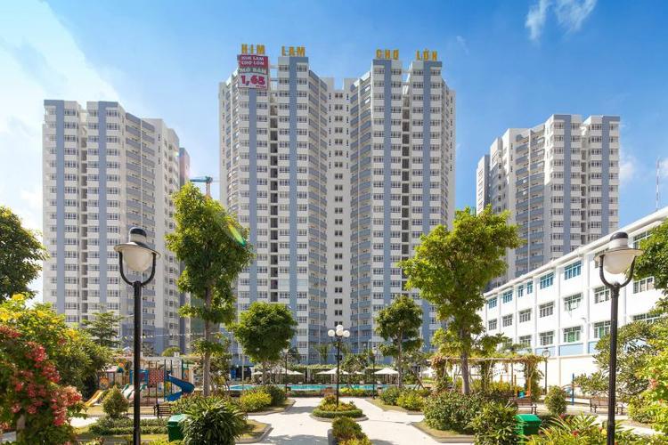 Căn hộ Him Lam Chợ Lớn, Quận 6 Căn hộ Him Lam Chợ Lớn tầng 5 diện tích 102m2, đầy đủ nội thất.