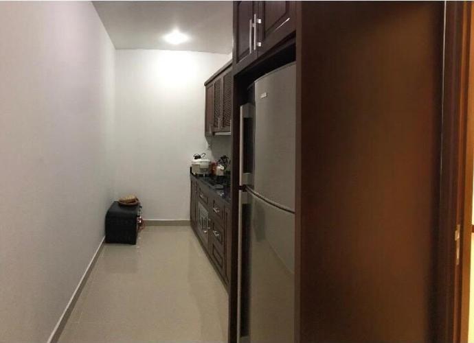 Phòng bếp căn hộ Him Lam Riverside, Quận 7 Căn hộ Him Lam Riverside tầng 15 đầy đủ nội thất, view thành phố.