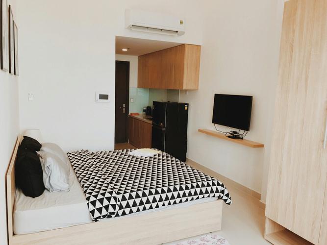 Studio Rivergate Residence tầng 7 thiết kế 1 phòng ngủ, đầy đủ nội thất.
