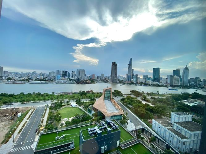 View căn hộ Empire City, Quận 2 Căn hộ Empire City tầng 15 view sông Sài Gòn, nội thất cơ bản.