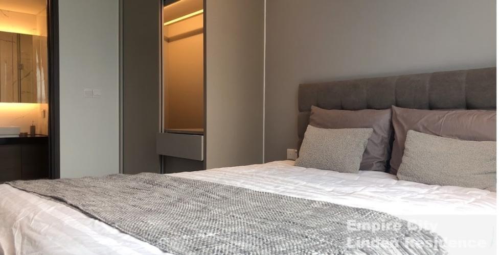 Căn hộ Empire City, Quận 2 Căn hộ có 1 phòng ngủ Empire City tầng 20, đầy đủ nội thất cao cấp.