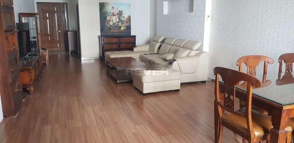 Căn hộ tầng 16 Belleza Apartment diện tích 127m2, nội thất cơ bản.