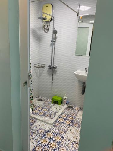 Phòng tắm căn hộ An Viên Apartment, Quận 7 Căn hộ tầng 8 An Viên Apartment hướng Tây Bắc, đầy đủ nội thất.