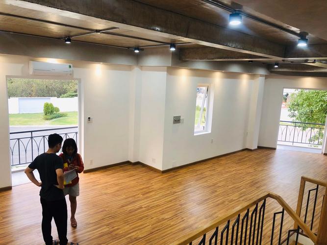 Nhà phố Quận 9 Nhà phố dự án Rosita Garden Khang Điền thiết kế 1 trệt, 2 lầu đúc chắc chắn.