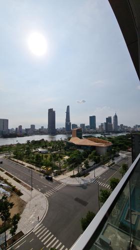 View căn hộ Empire City, Quận 2 Căn hộ Empire City nội thất cơ bản, tầng 8 view đón gió thoáng mát.