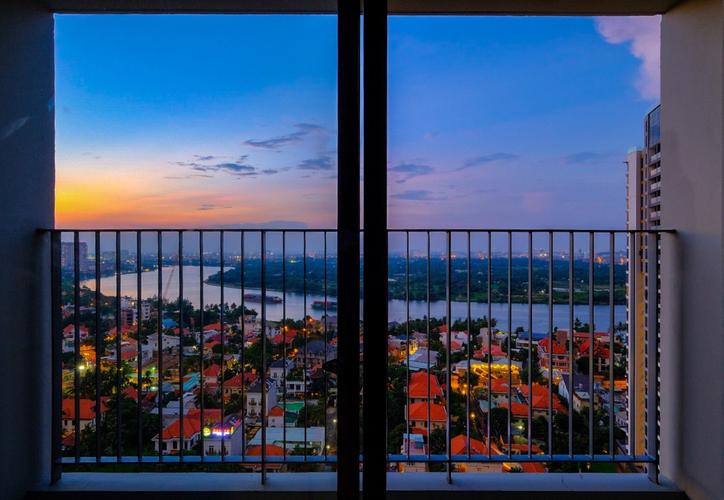 View căn hộ Masteri Thảo Điền, Quận 2 Căn hộ Masteri Thảo Điền tầng 23 view thành phố, đầy đủ nội thất.