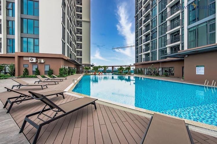 Tiện ích căn hộ Eco Green Saigon, Quận 7 Căn hộ Eco Green Saigon tầng 15 diện tích 94.74m2, nội thất cơ bản.