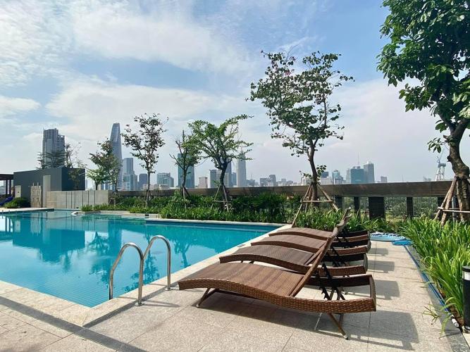 Tiện ích căn hộ Empire City, Quận 2 Căn hộ cao cấp Empire City tầng 6 diện tích 94.7m2, nội thất cơ bản.
