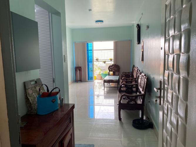 Phòng khách căn hộ An Viên Apartment, Quận 7 Căn hộ tầng 8 An Viên Apartment hướng Tây Bắc, đầy đủ nội thất.