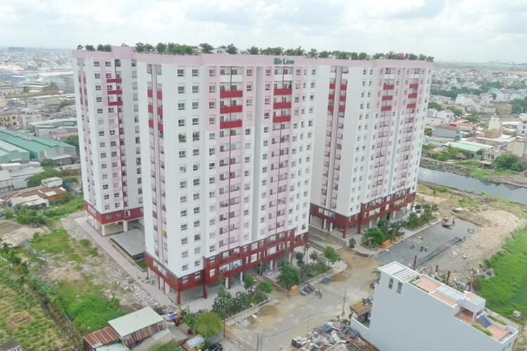 Căn hộ Chung cư Thái An, Quận 12 Căn hộ Chung cư Thái An tầng 8 diện tích 75m2, đầy đủ nội thất.