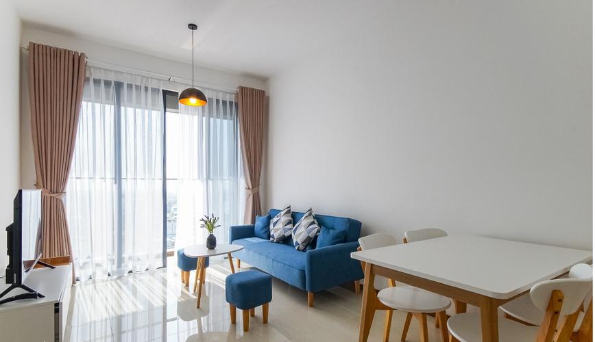 Căn hộ One Verandah tầng 12 view sông thoáng mát, đầy đủ nội thất.