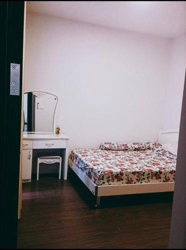 Phòng ngủ Sunrise Riverside Căn hộ Sunrise Riverside tầng 8 thiết kế kỹ lưỡng, đầy đủ nội thất.
