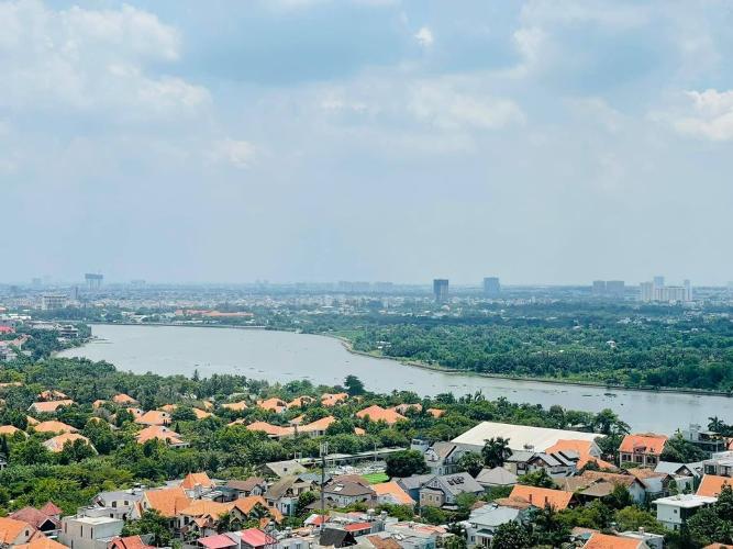 View căn hộ Masteri Thảo Điền, Quận 2 Căn hộ Masteri Thảo Điền tầng 22, đầy đủ nội thất hiện đại.