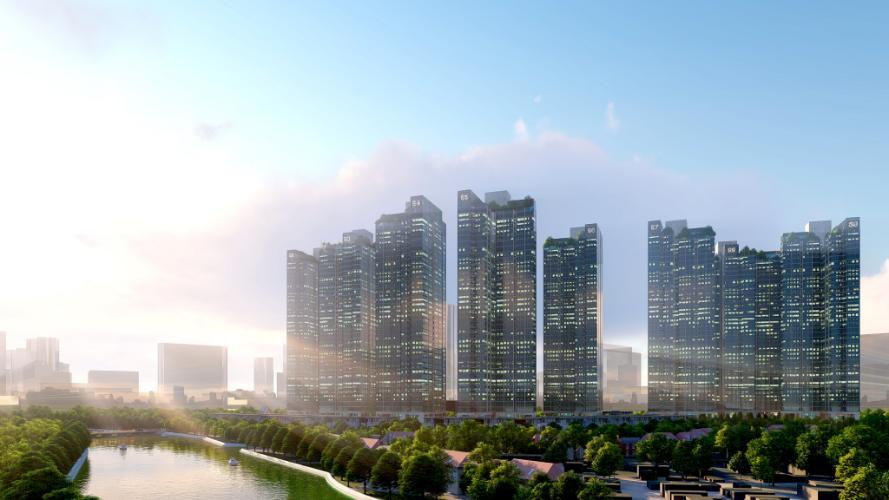 Dự án căn hộ Sunshine City Sài Gòn Bán Officetel Sunshine City Sài Gòn thuộc tầng cao, 2 phòng ngủ, diện tích 69m2, nội thất cơ bản.