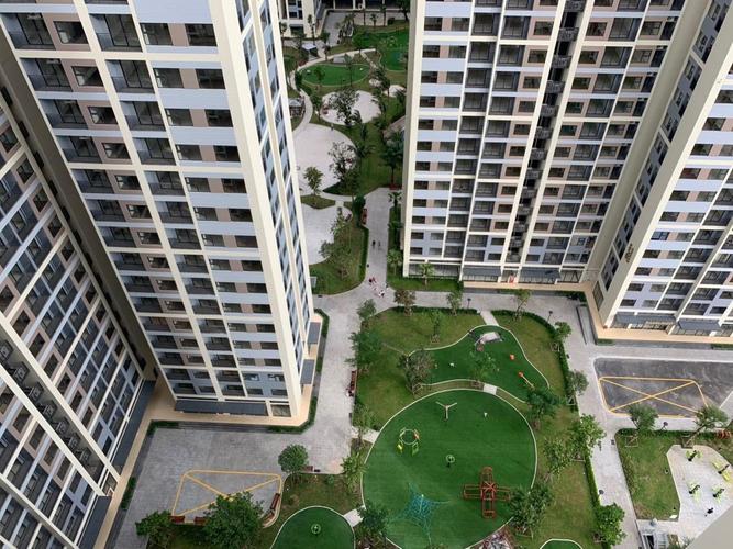 Căn hộ Vinhomes Grand Park, Quận 9 Căn hộ Vinhomes Grand Park tầng 24 diện tích 59m2, không có nội thất.