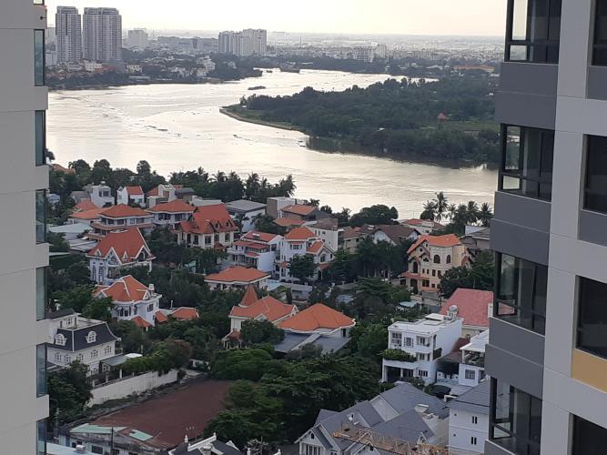 View căn hộ Masteri An Phú, Quận 2 Căn hộ Masteri An Phú tầng 23, view sông Sài Gòn thoáng mát.