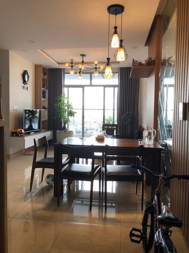 Căn hộ Opal Riverside tầng 15 thiết kế hiện đại, đầy đủ nội thất.
