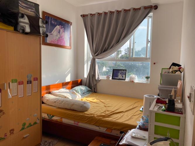 Căn hộ Moonlight Residence, Quận Thủ Đức Căn hộ Moonlight Residence tầng 6, ban công hướng Đông Nam thoáng mát.
